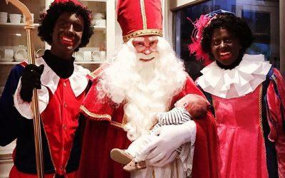 Sinterklaas op bezoek in Wassenaar
